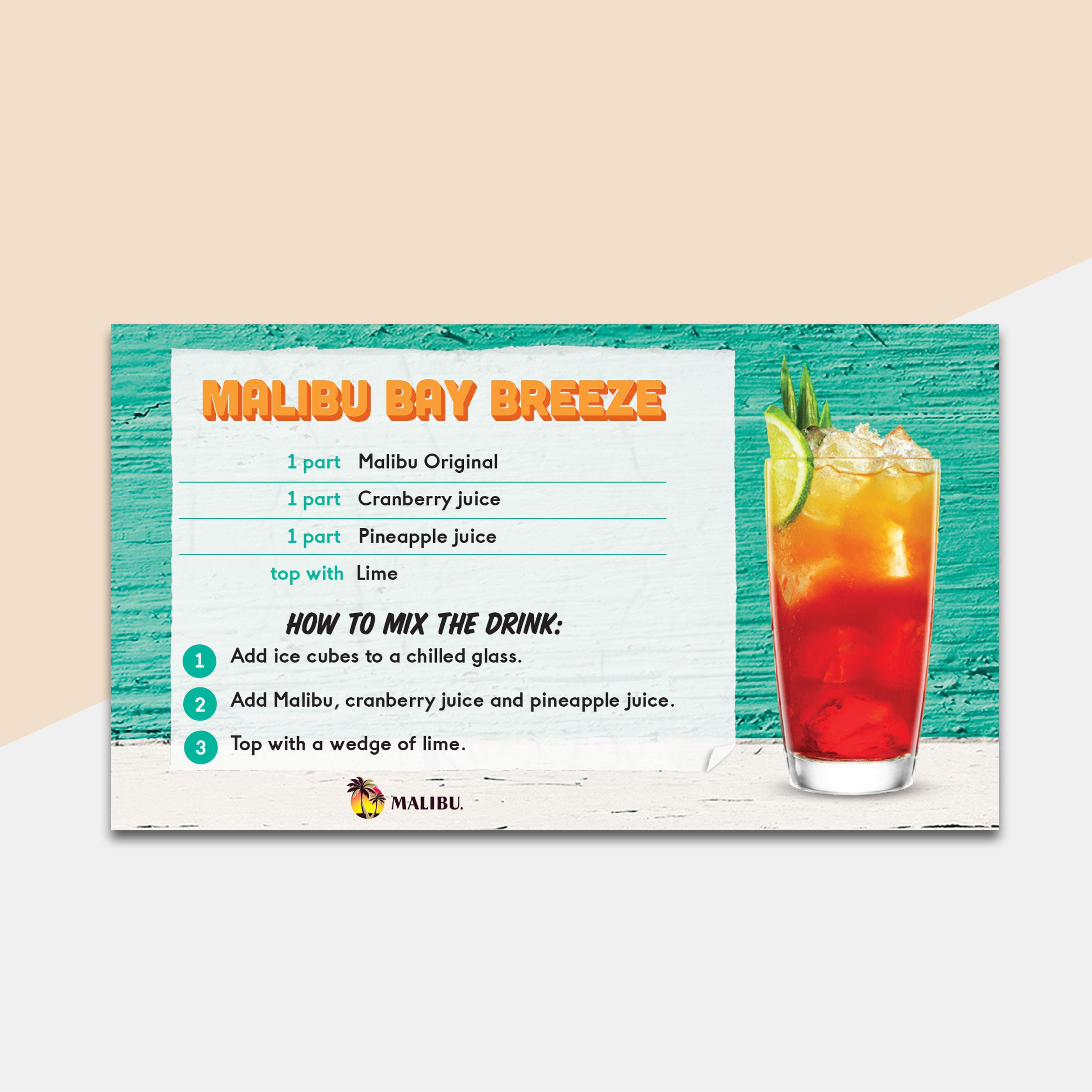 Malibu-recipe